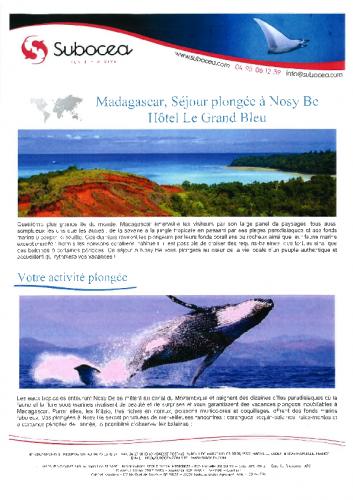 Programme Madagascar