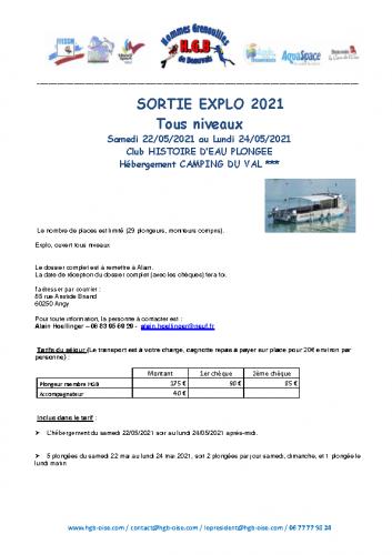 Inscription ERQUY 2021 Explo